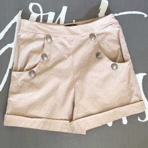 Forever 21 Women's high waist sailor shorts size M